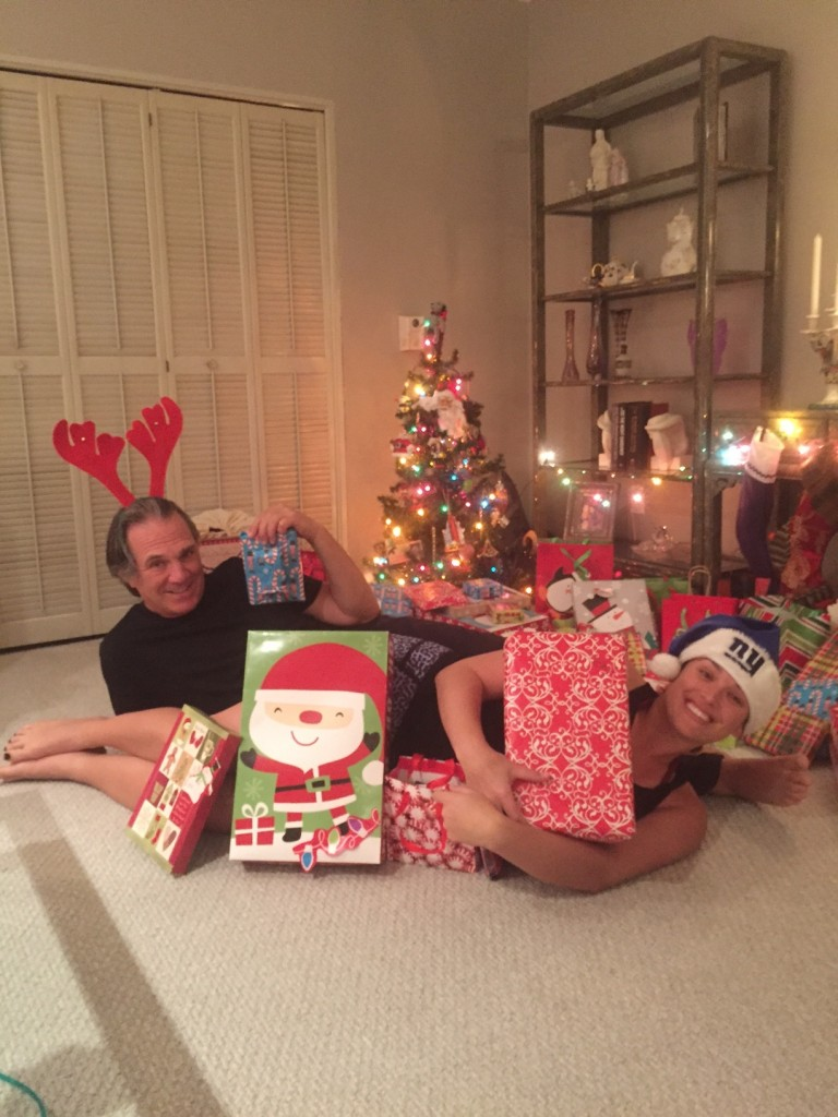 David and Courtny Catzel, Christmas 2015