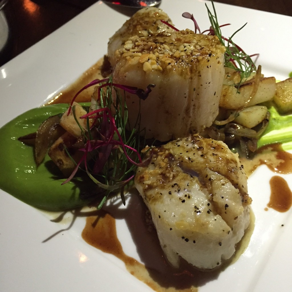 Scallops at Sociale