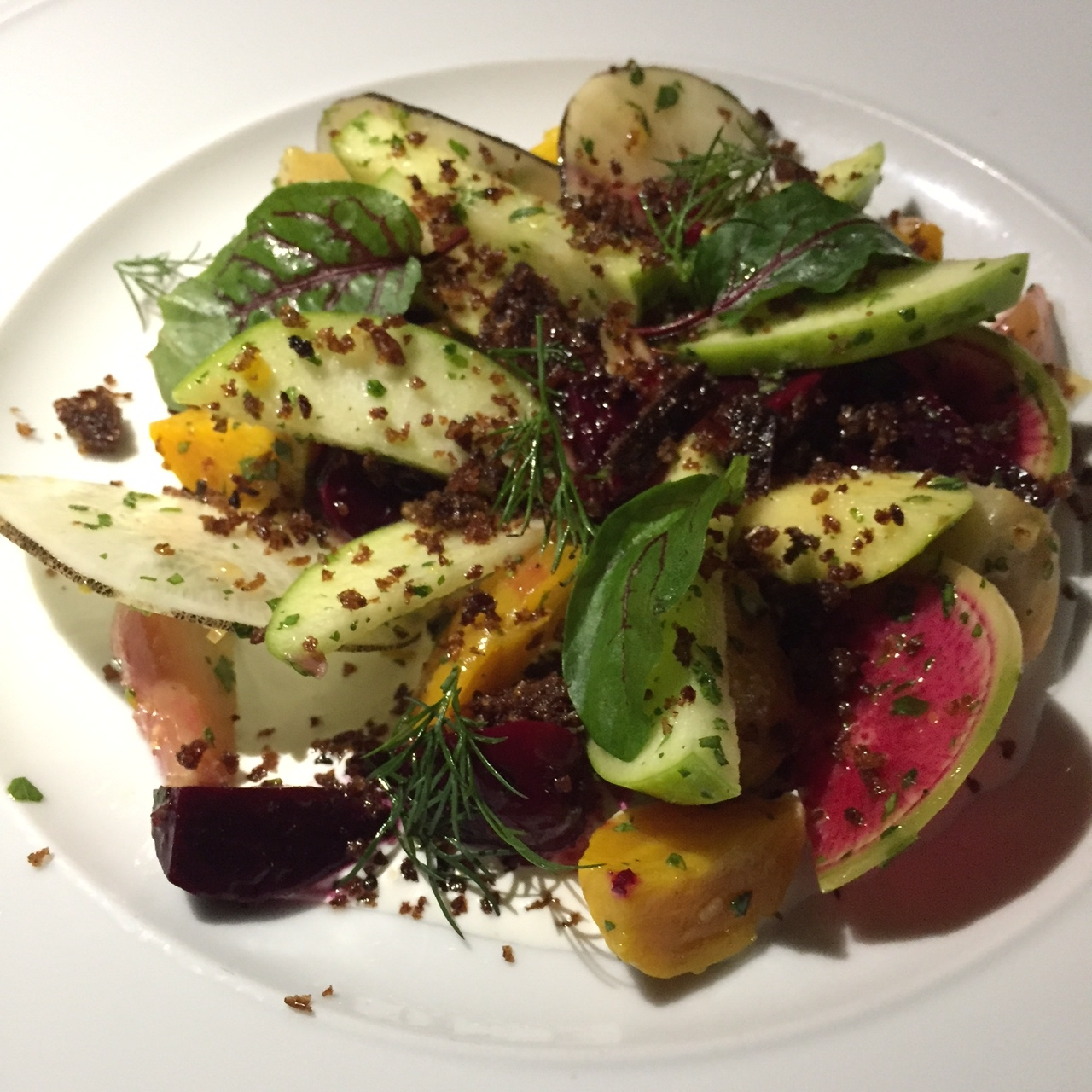 Rainbow Beet & Apple Salad
