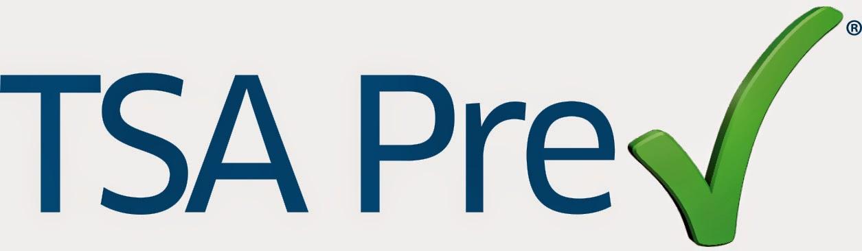 TSA Precheck Logo ® blue text