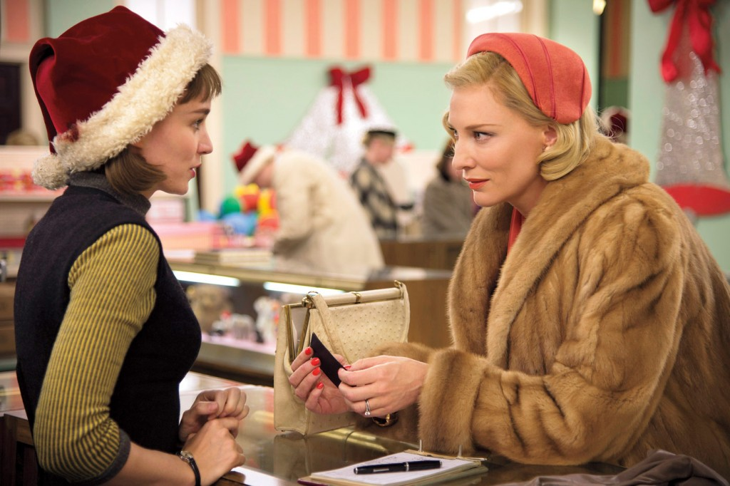 Rooney Mara & Cate Blanchett in Carol photo:ew.com