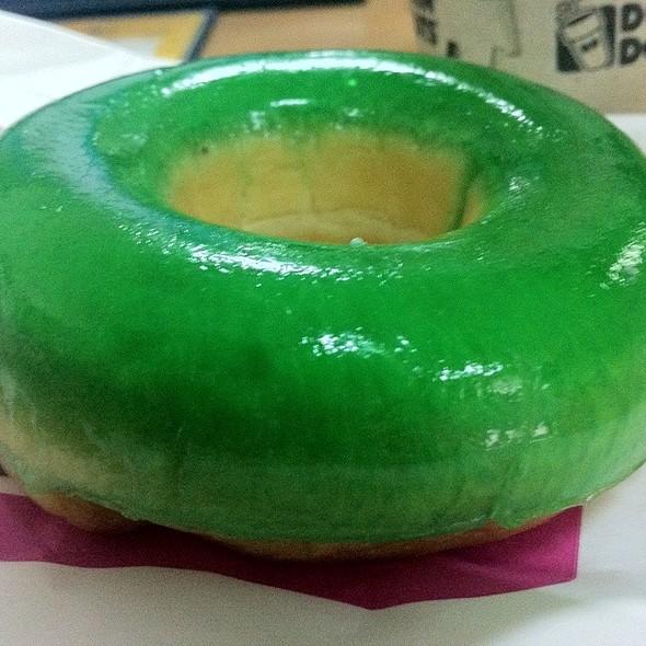 Dunkin' Donuts Green Donut