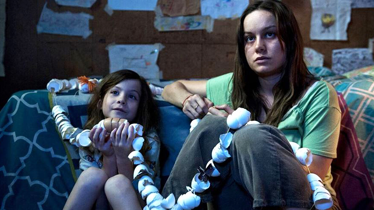 Brie Larson and Jacob Tremblay star in Room photo: ruth hurl/Element Pictures