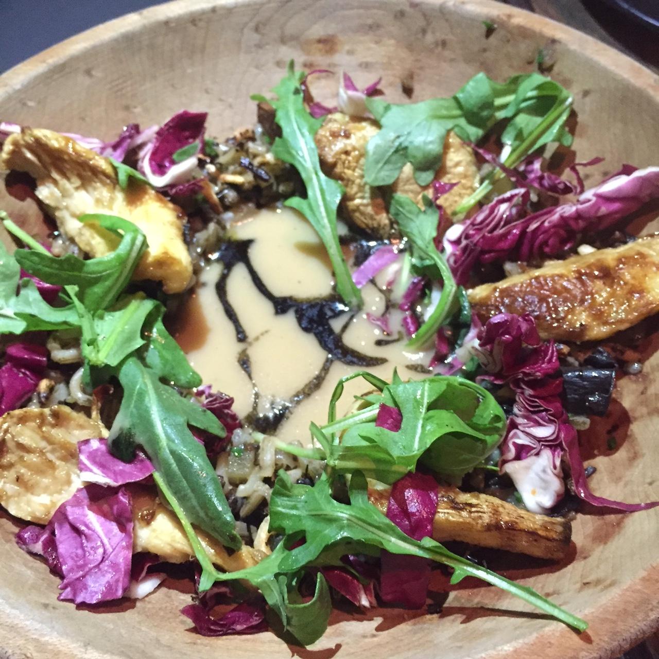 Grilled Nebrodini Mushrooms