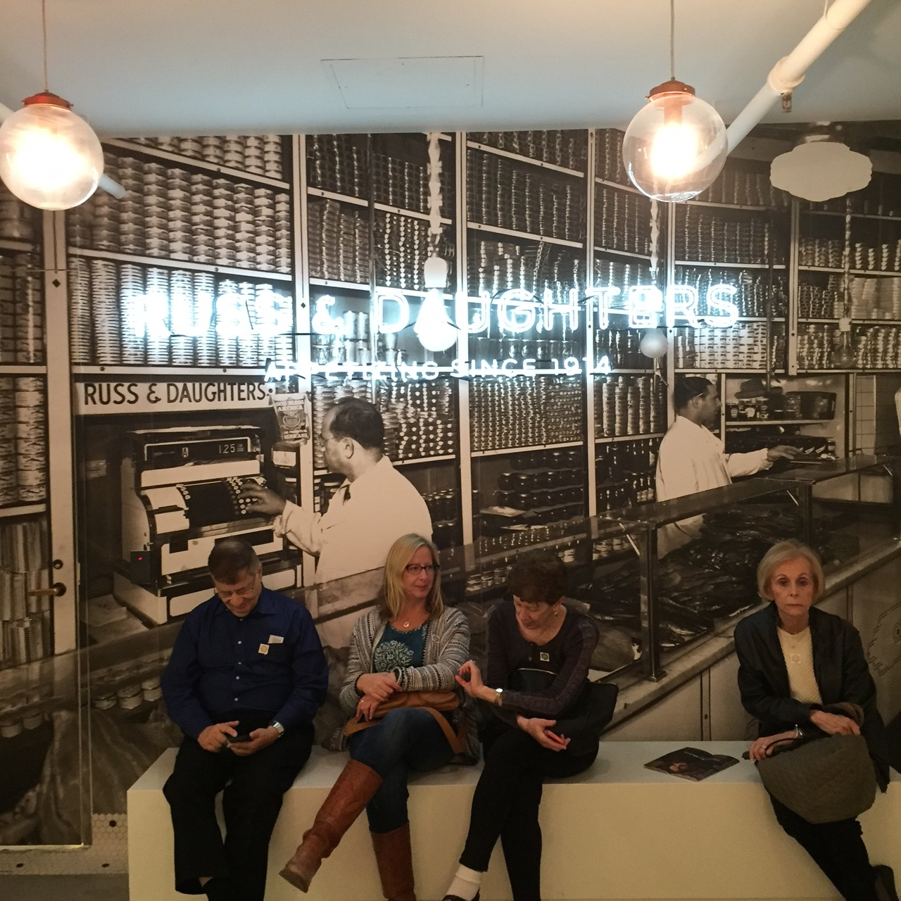 Russ & Daughters in the Jewish Museum