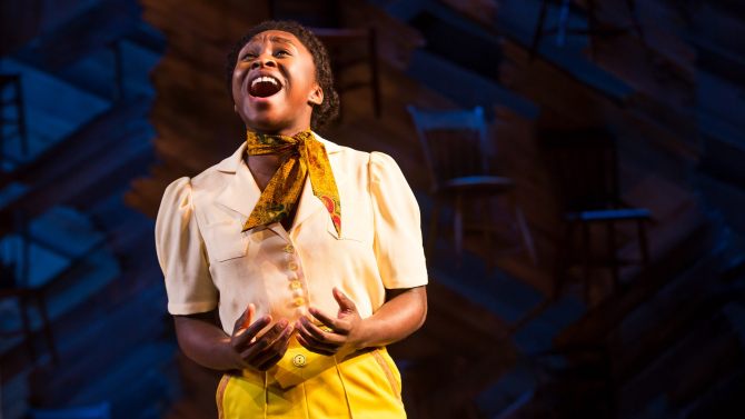 Cynthia Erivo, The Color Purple photo:Matthew Murphy
