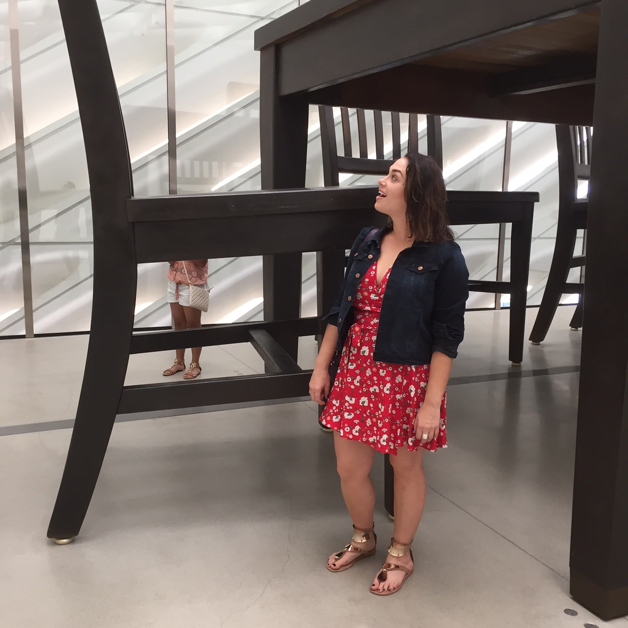A broad at the Broad Museum