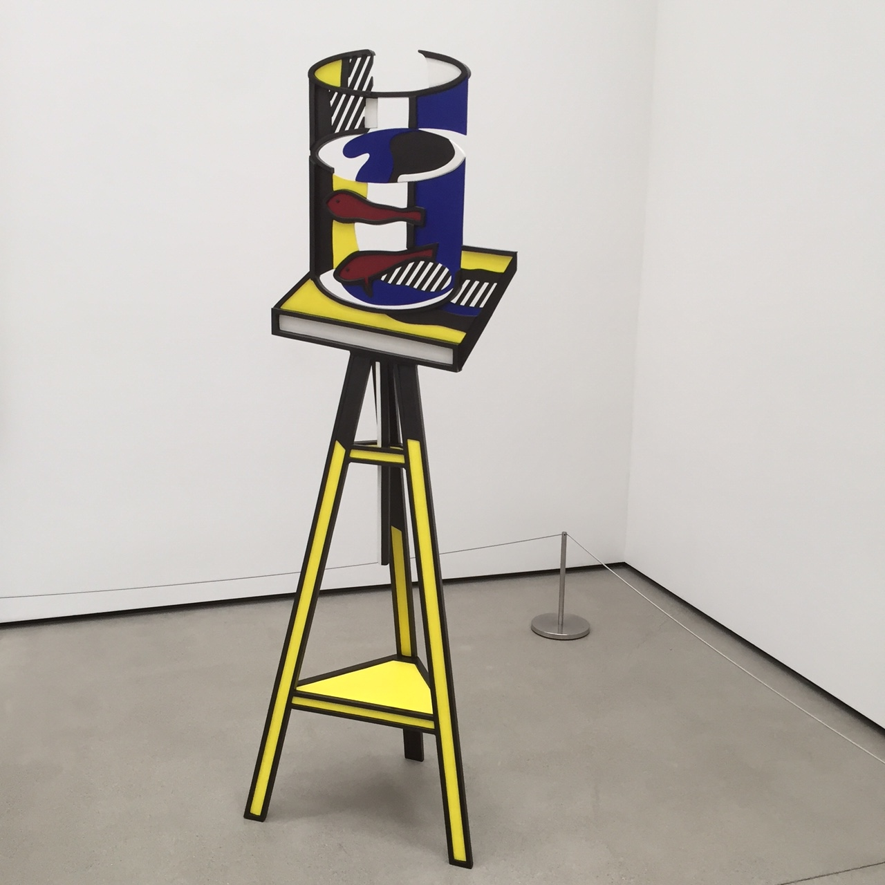 Roy Lichtenstein at the Broad