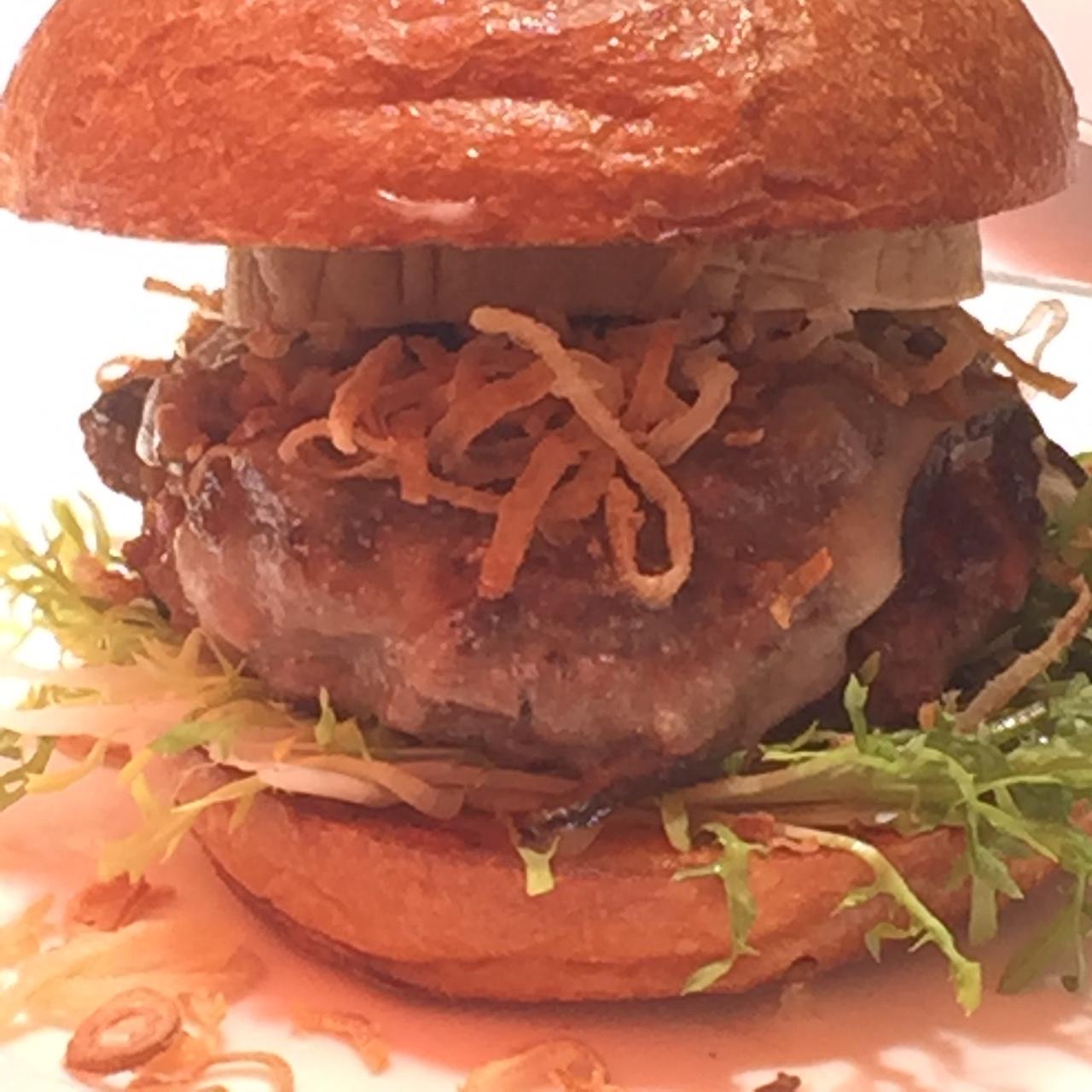 Foie Gras& Truffle Burger