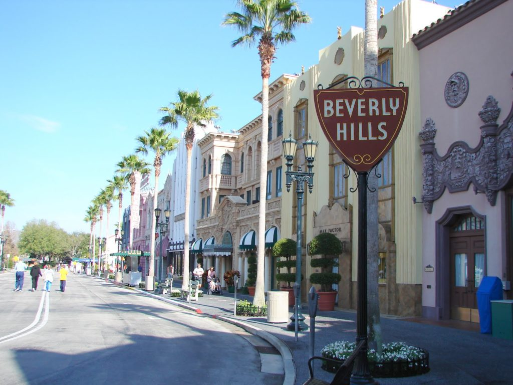Flying Solo In Bev Hills…