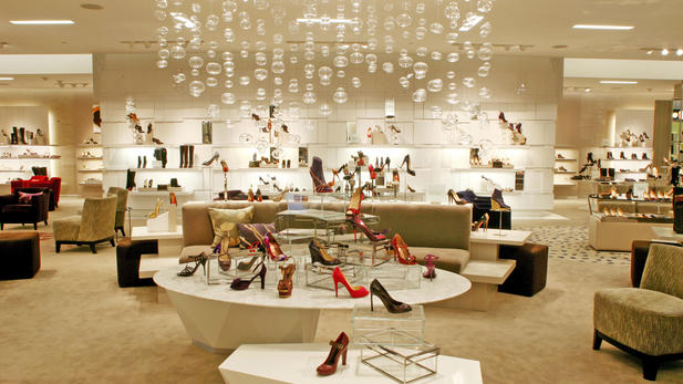 Saks Fifth Avenue Bev Hills Shoe Salon