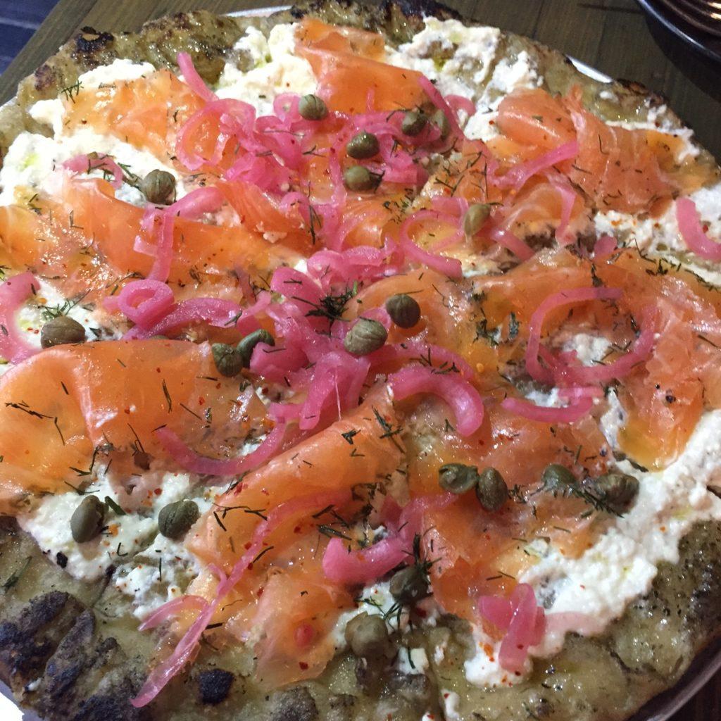 Gravlax Pizza