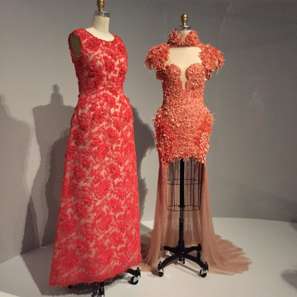 (Right) McQueen Dress 2012