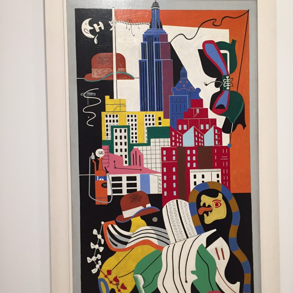 New York Mural, Stuart Davis 1932