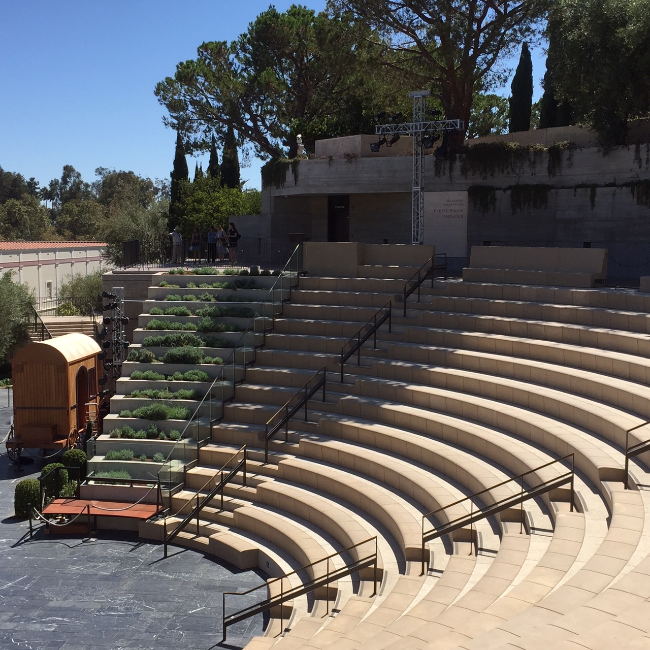 Getty Amphitheatre