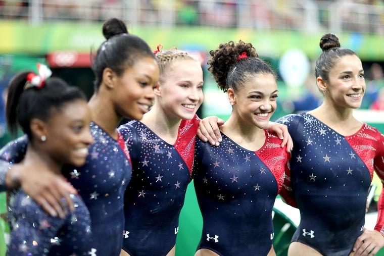 USA Gymnastics Team photo:tim clayton/getty images
