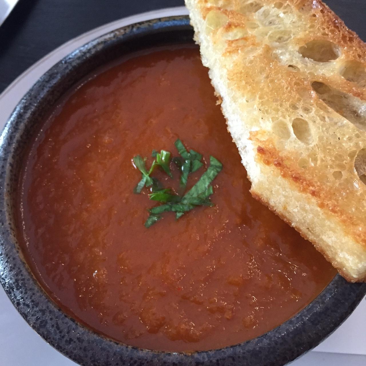 Tomato-kimchi Soup