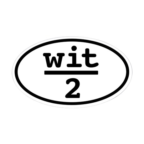 half_wit_oval_sticker