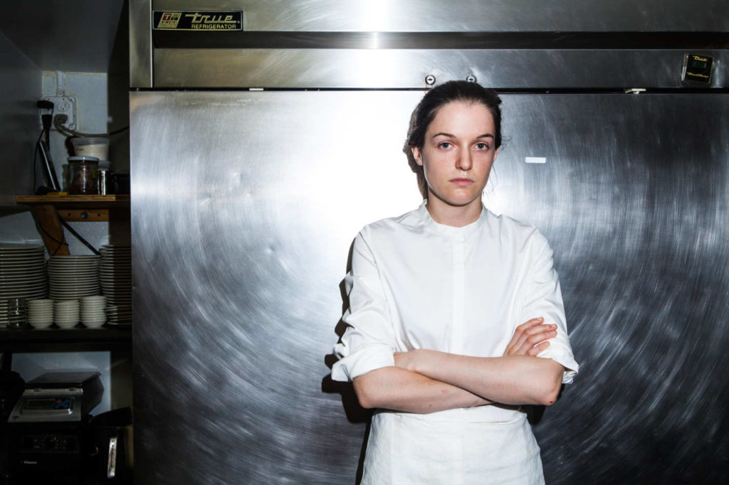 Chef Liz Johnson photo: grub street