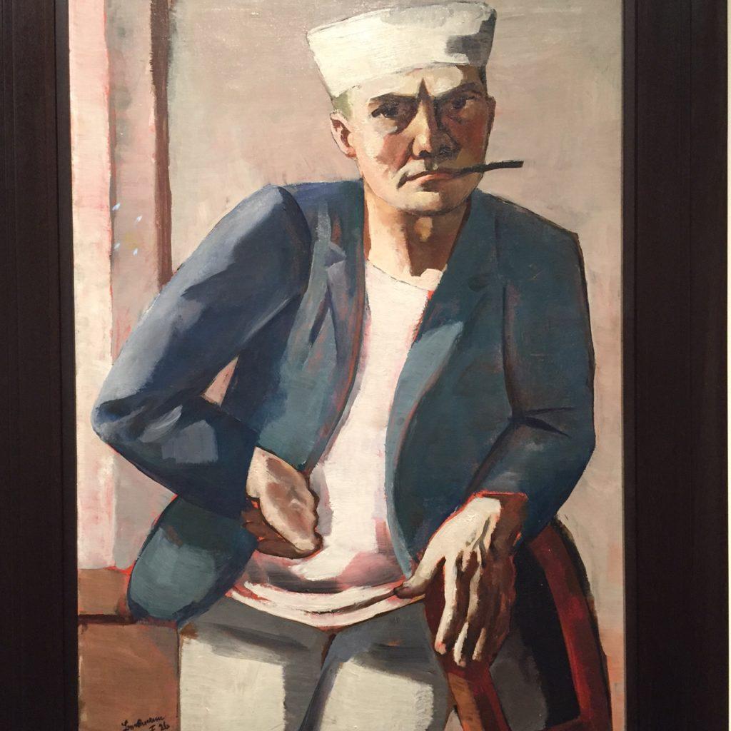 Max Beckmann Self=Portrait