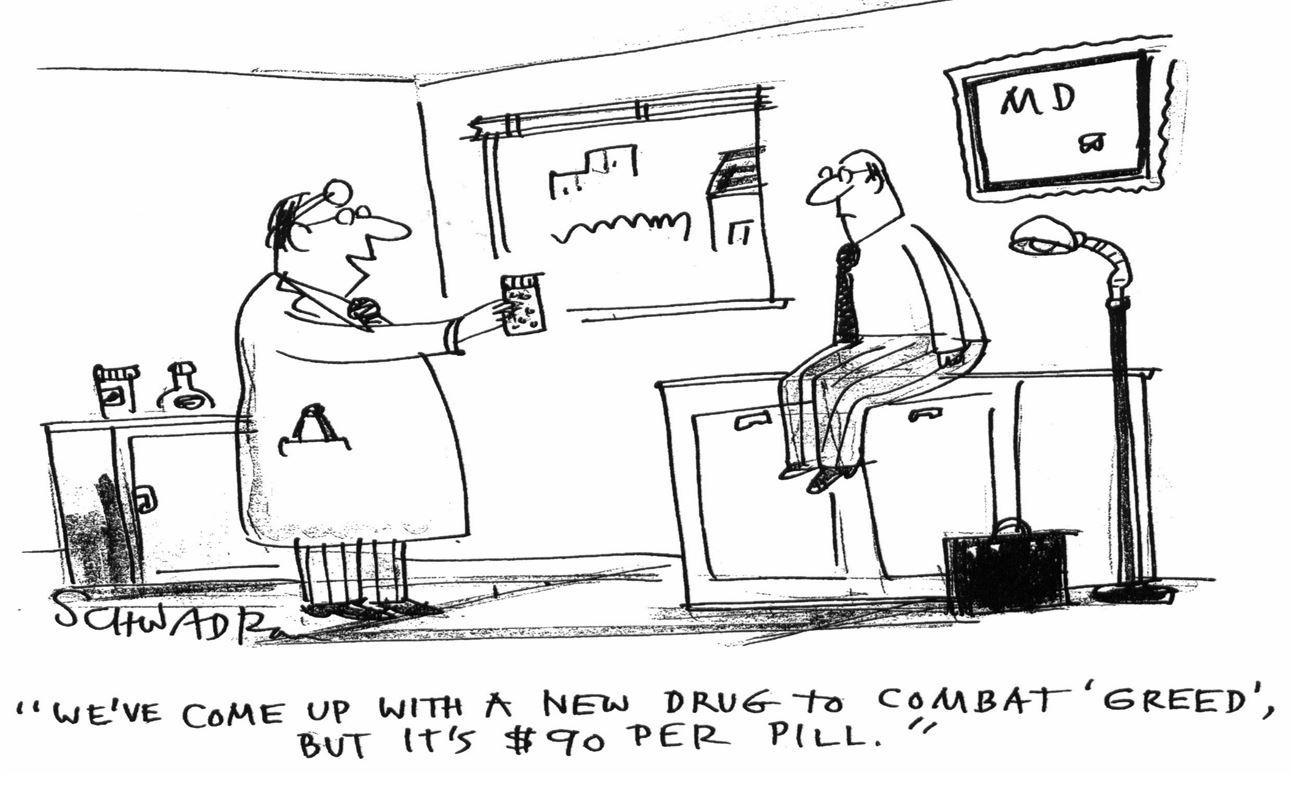 Bitter Pill…