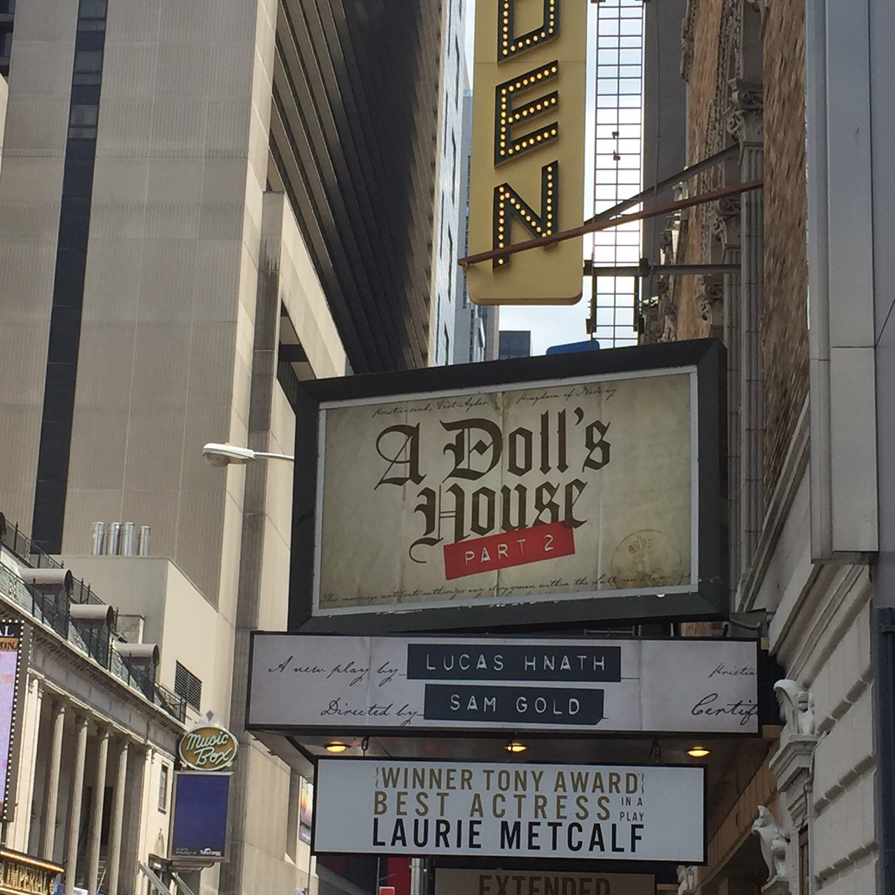Best Play On Broadway…