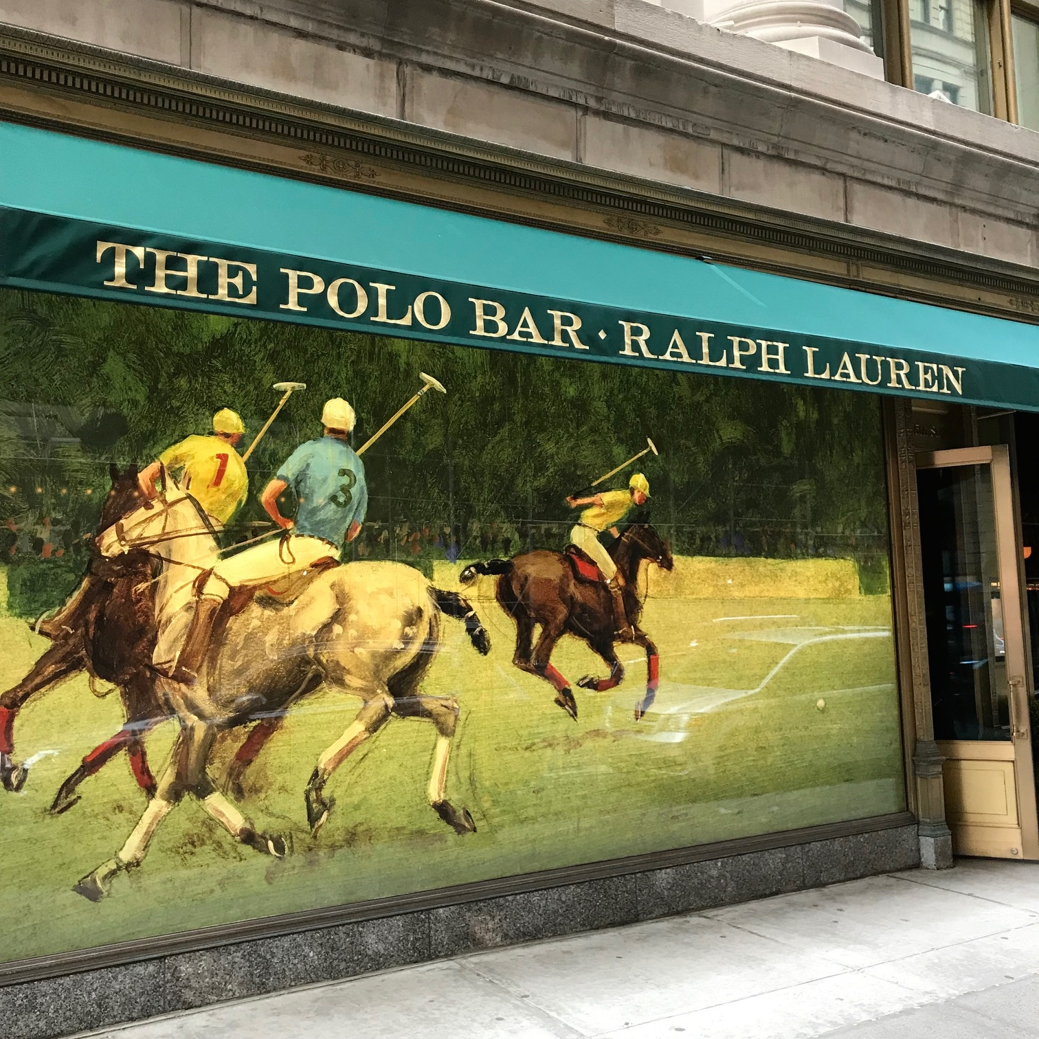 Horsin' Around At The Polo Bar…