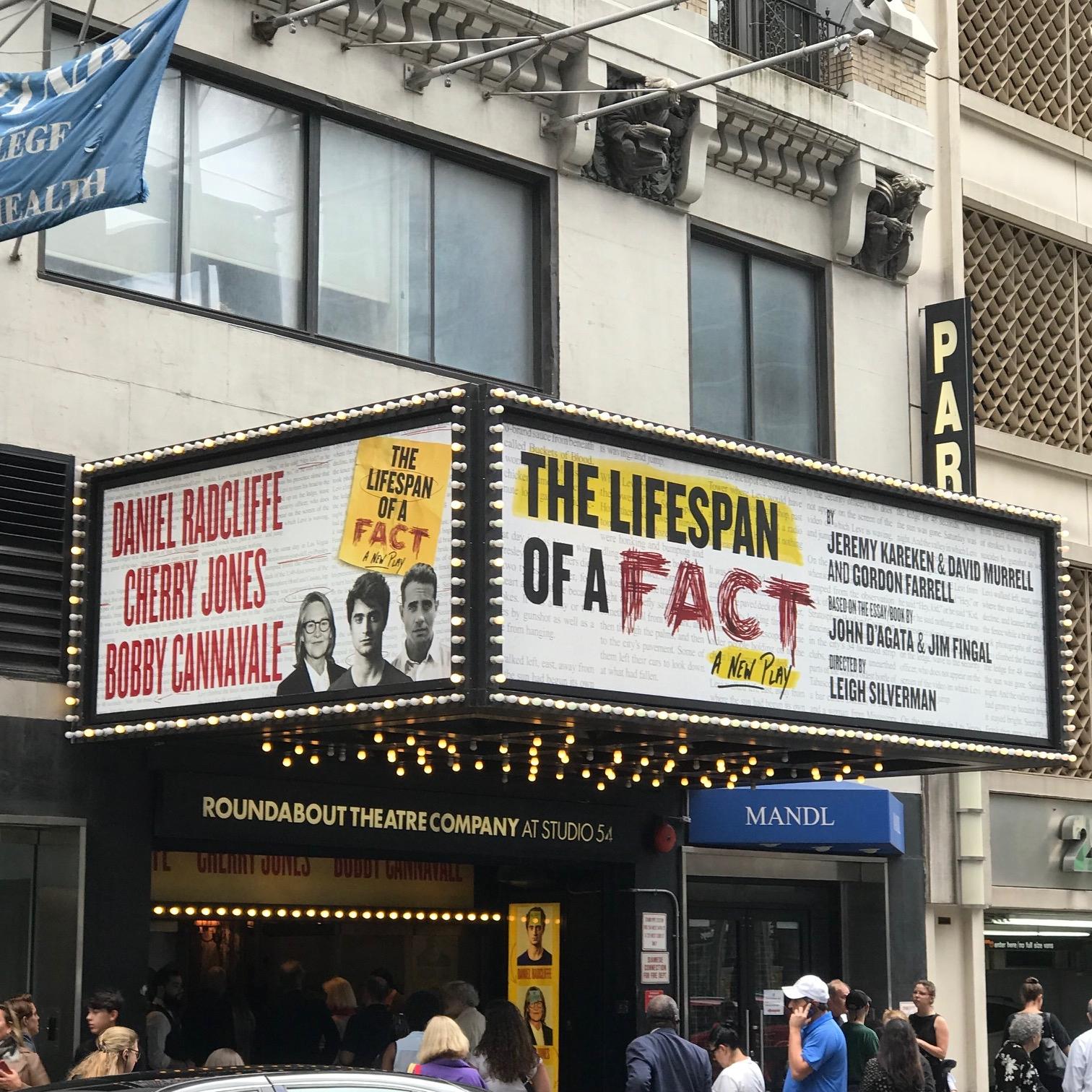 Broadway Bound…