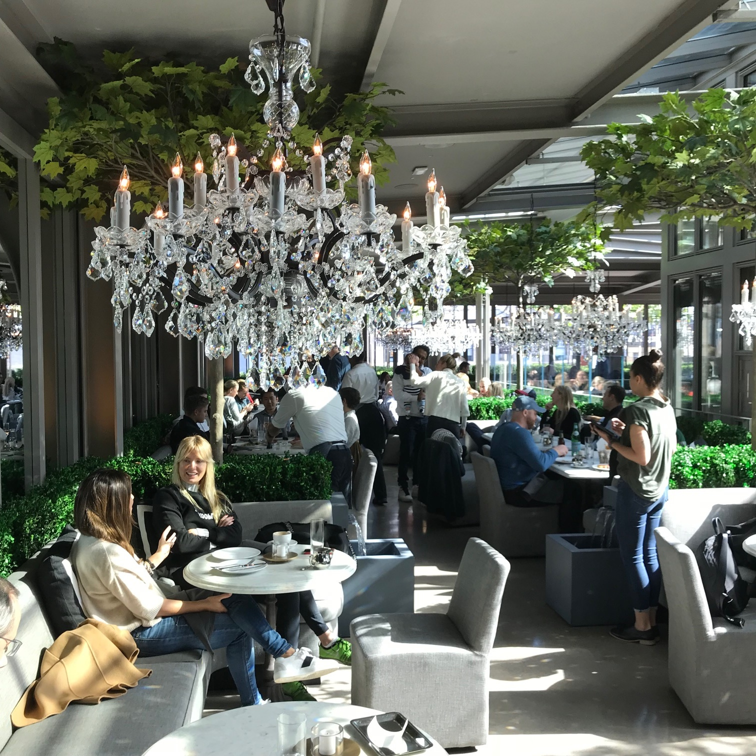 Restoration Hardware New York Rooftop: NYC Perfection