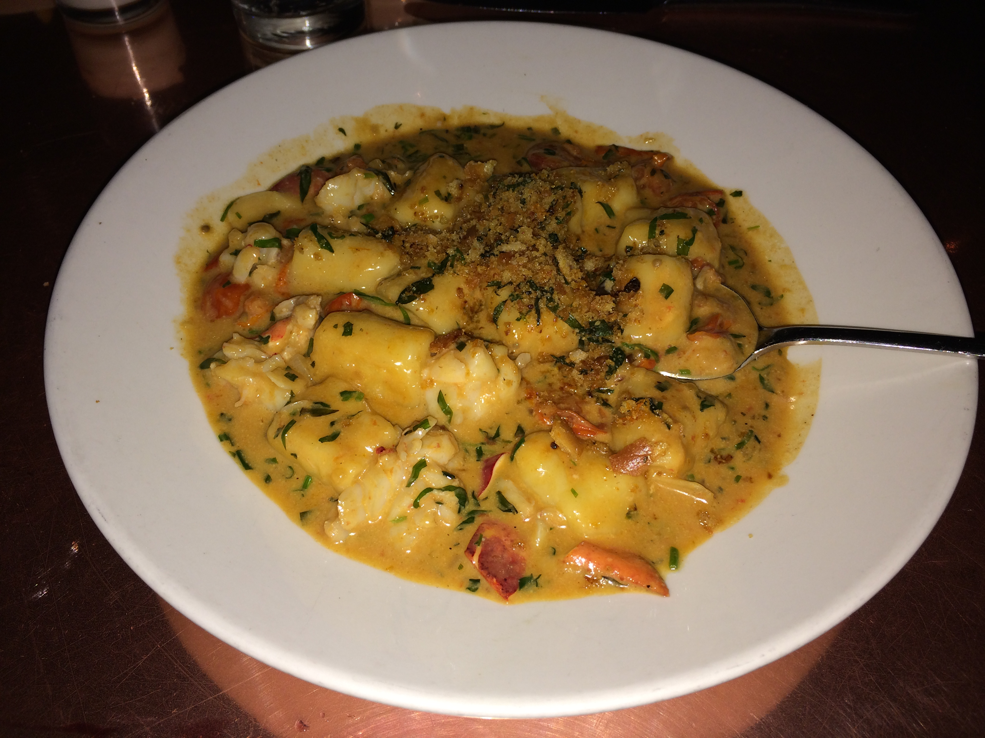Ricotta Gnocchi with Lobster