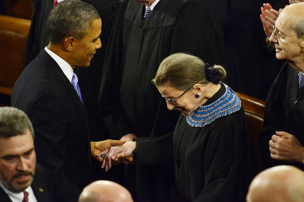 Supereme Court Justice Ruth Bader Ginsburg
