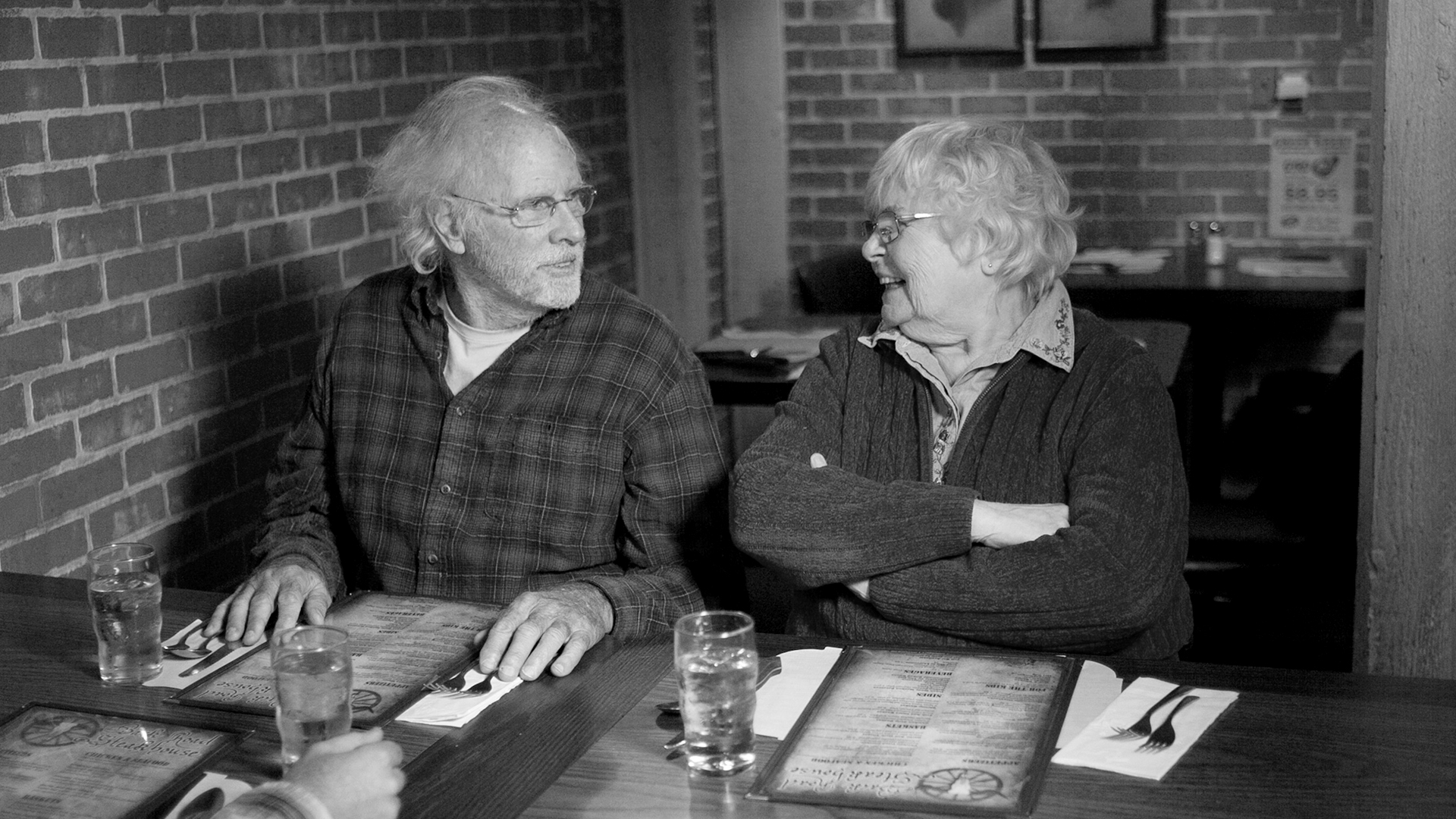Bruce Dern and June Squibb