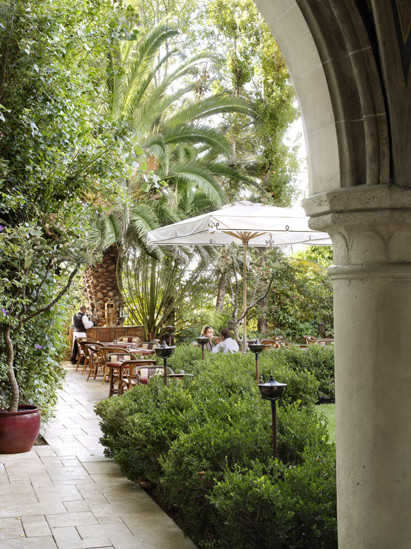 Chateau Marmont Terrace Restaurant