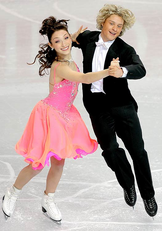 Meryl Davis and Charlie White, USA Skating Team