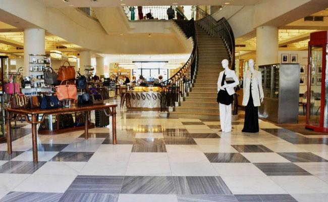 Barneys LA Main Floor