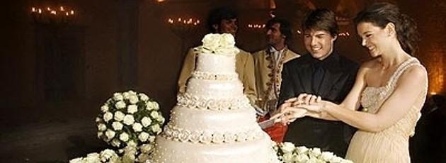 Tom Cruise and Katie Holmes Extravangant Wedding in Italy