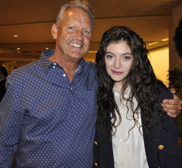 George Brett and Lorde Photo: MLB