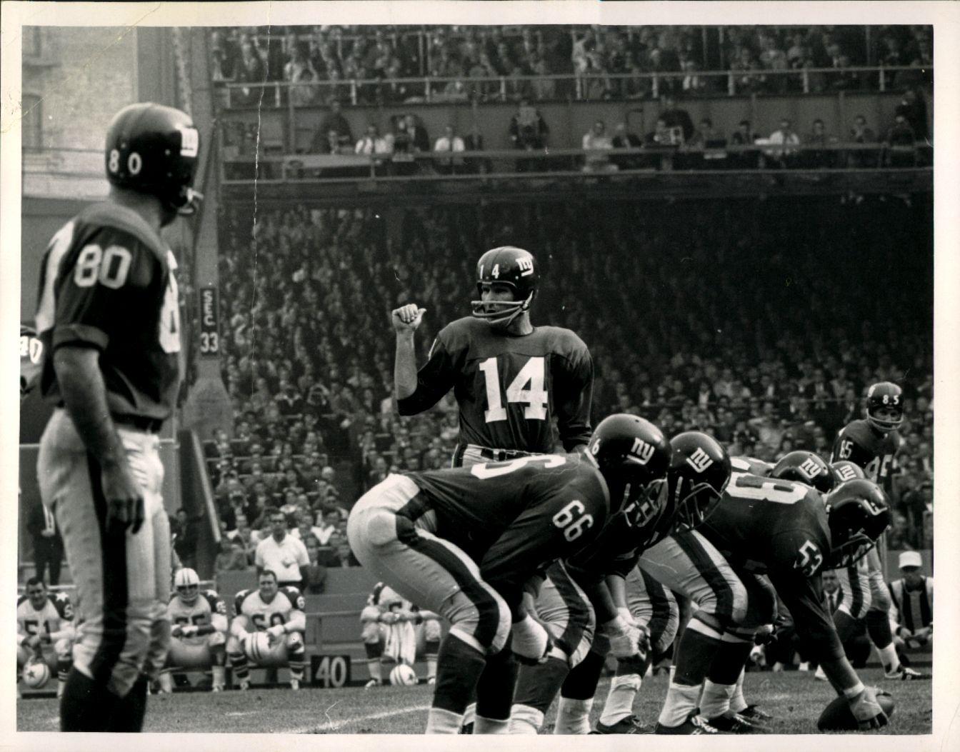 NY Giants Game At Yankee Stadium