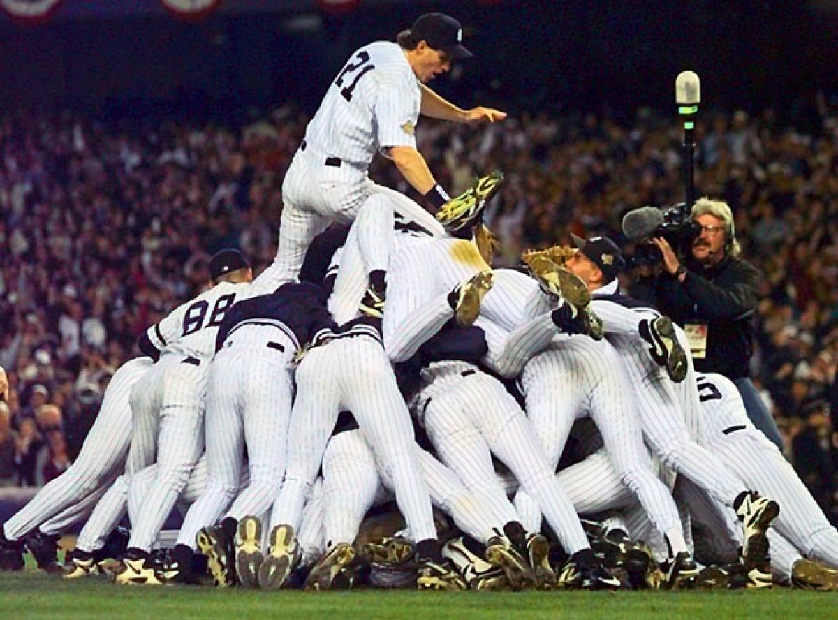 Yankees Win  Photo/NY Daily News