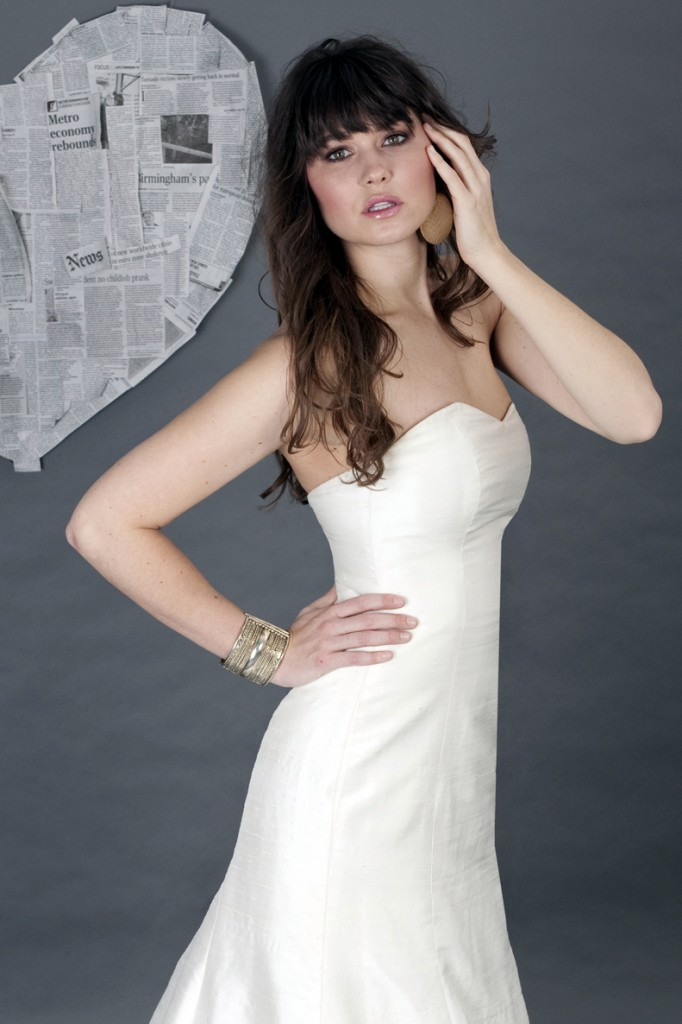 Coco Marie Simple wedding Gown. Perfect FOr Build-A-Bride