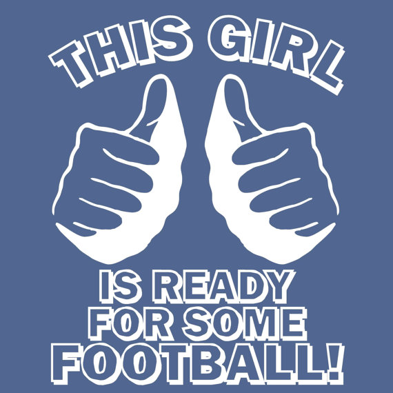 this girl football