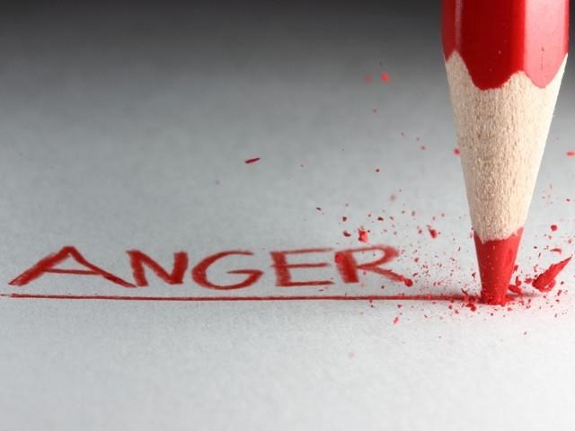Raging Anger…