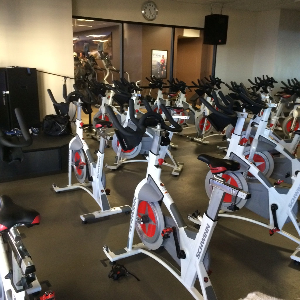 Antiquated Spin Bikes