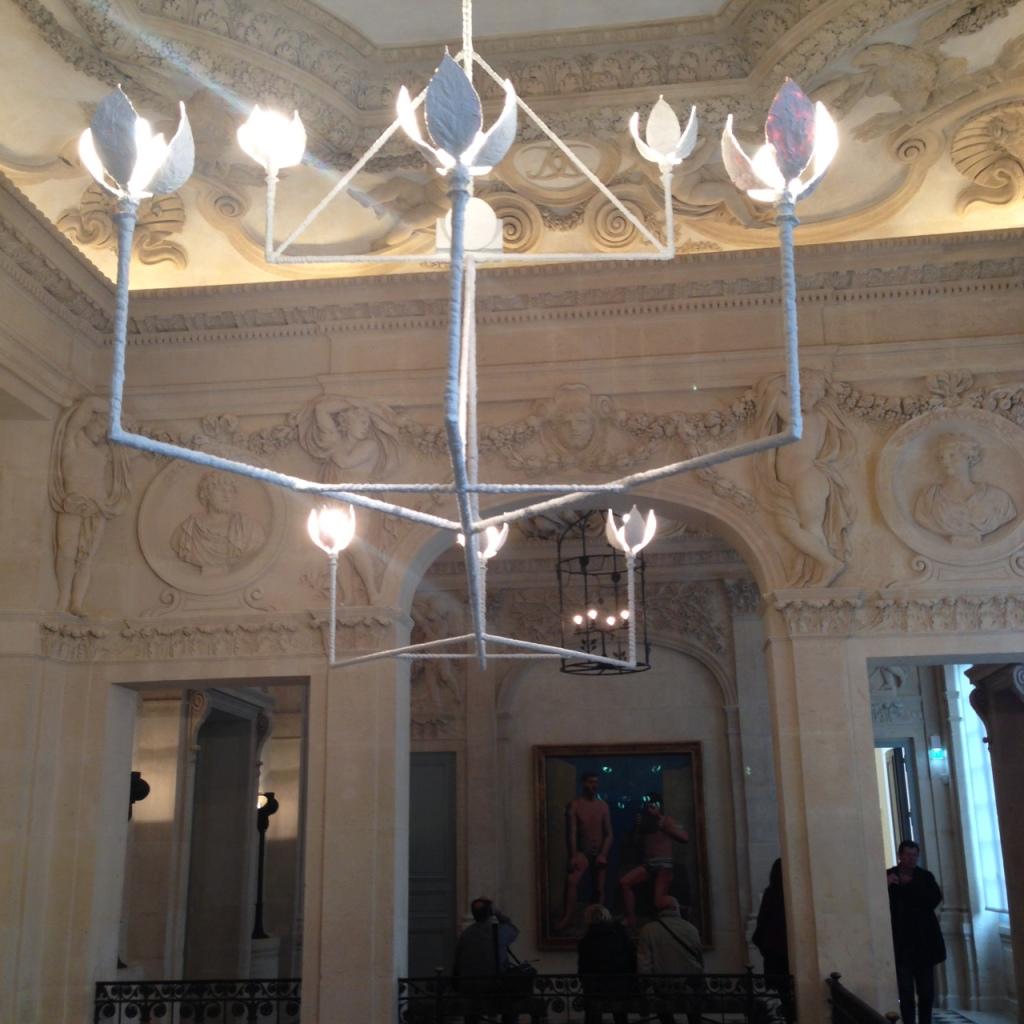 Light Fixtures In Picasso Museum