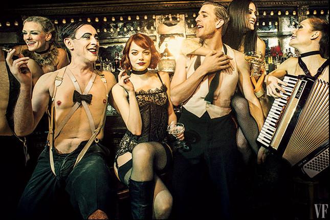 Cast of Cabaret photo: Pari Dukovic