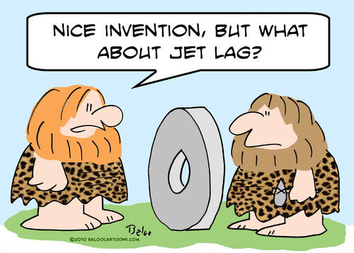 Lagging From Jet Lag…