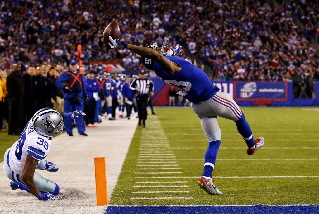 NY  Giant Odell Beckham Greatest Catch Against Cowboys/photo:time.com