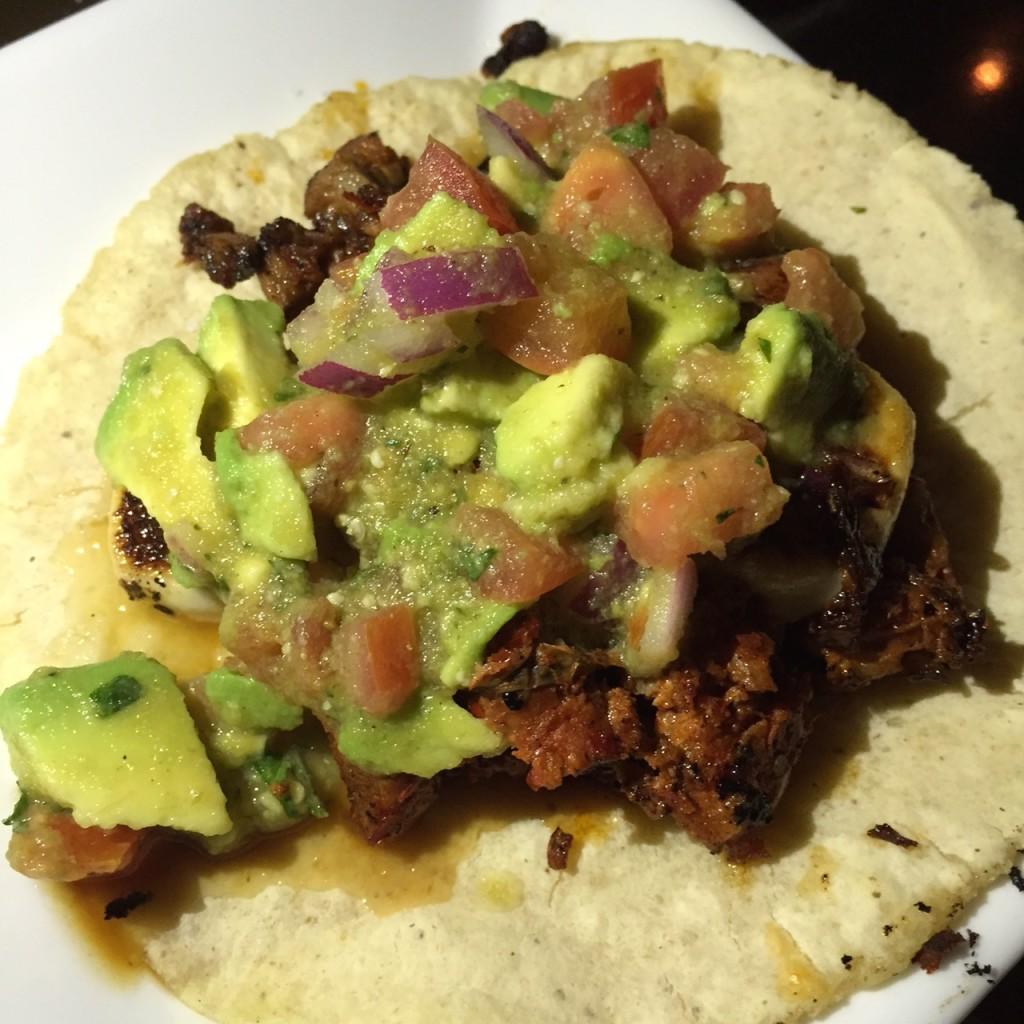 Chorizo Taco at Tacotera