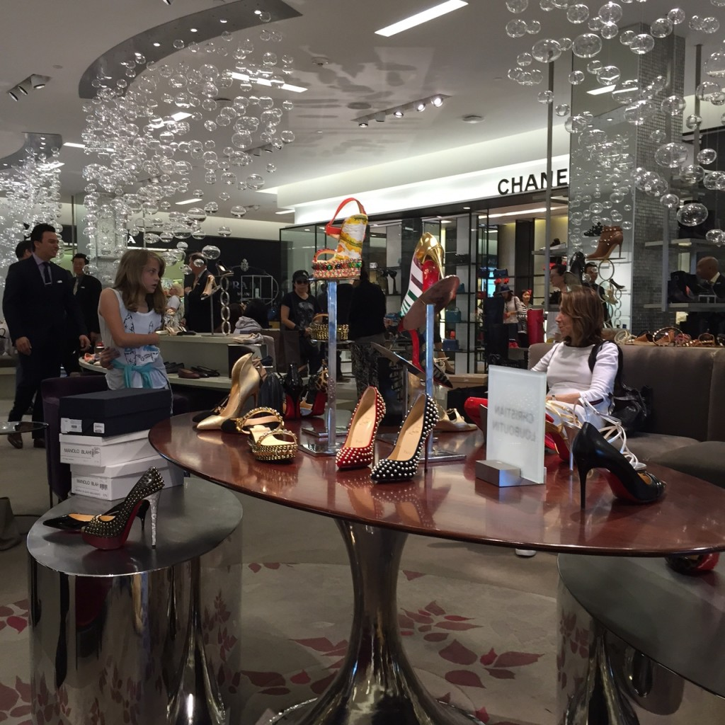 Saks 5th Avenue Shoe Salon