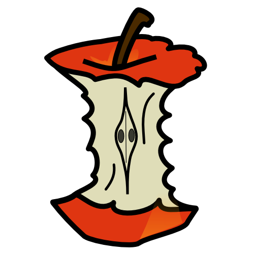 core-clipart-apple_core_01